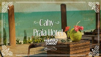 Localizado em Prado, o Cahy Praia Hotel é um paraíso para quem quer descansar e se divertir. O hotel oferece ao hóspede, além de muitas outras coisas: sauna com vista para o mar, 3 piscinas, deck's e cabanas na praia, e muito mais!